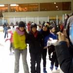 Daniel patinando!