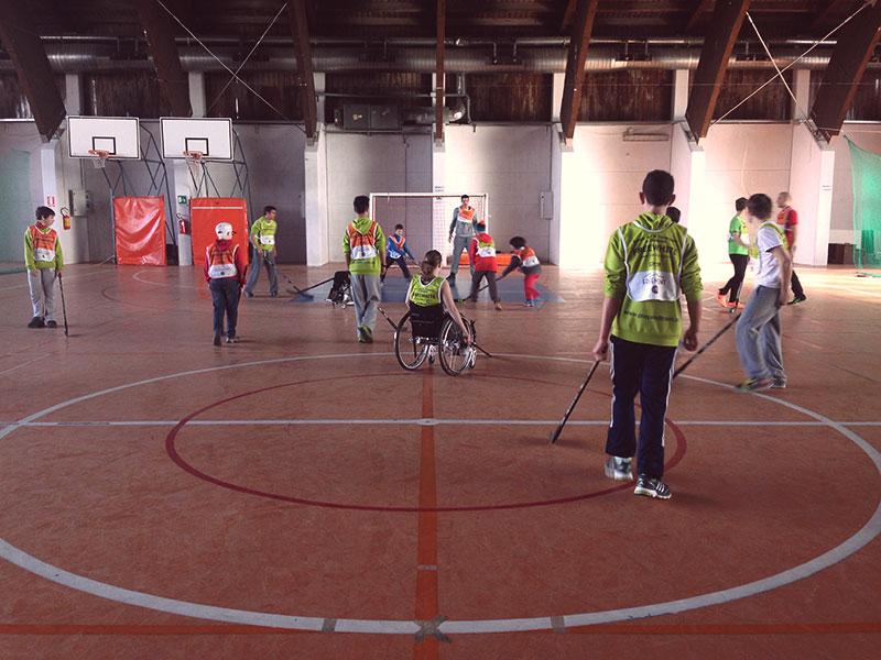 Hockey en el Ipc European Para Snow Youth Circuit