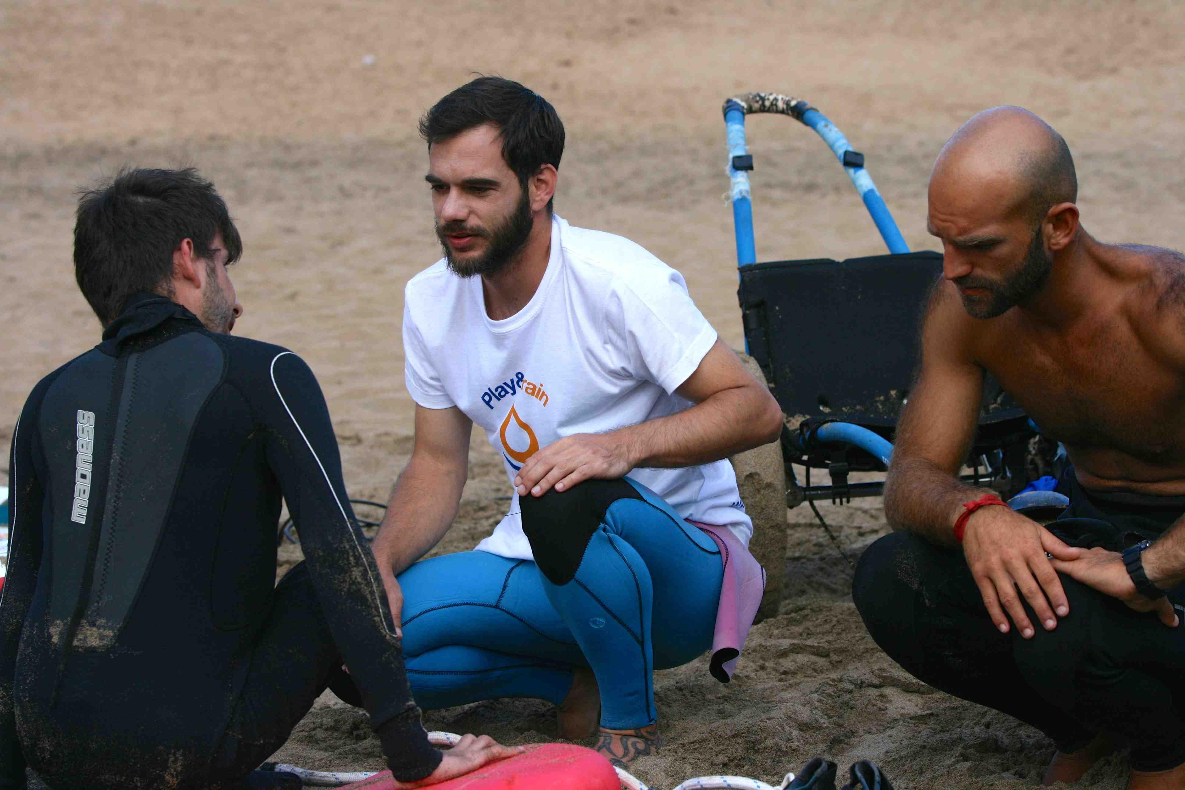 Programa Surfing4All en Fuerteventura de Play and Train
