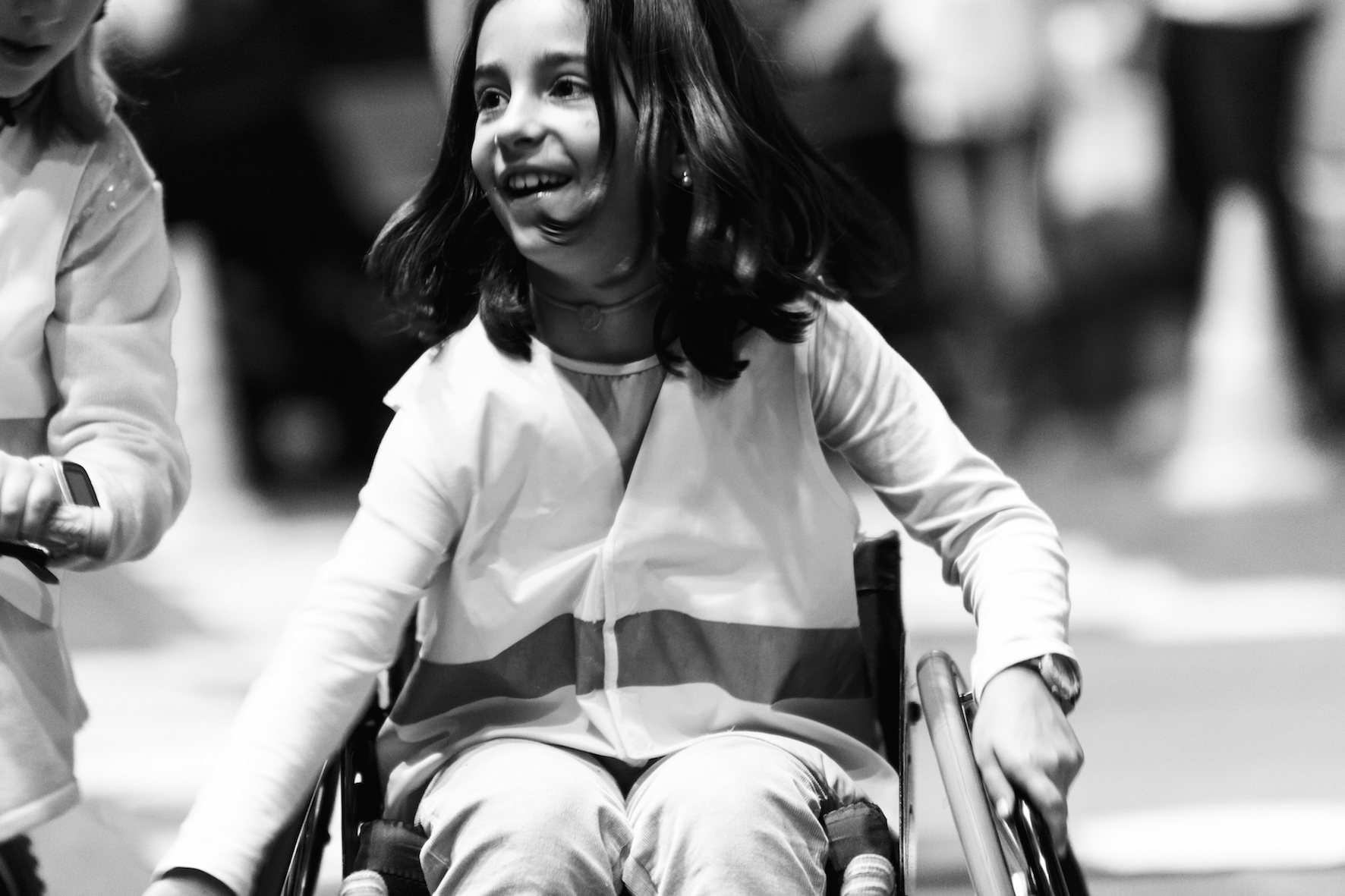 Sonrisas y educación en el Parc de Nadal de Alp y Puigcerdà