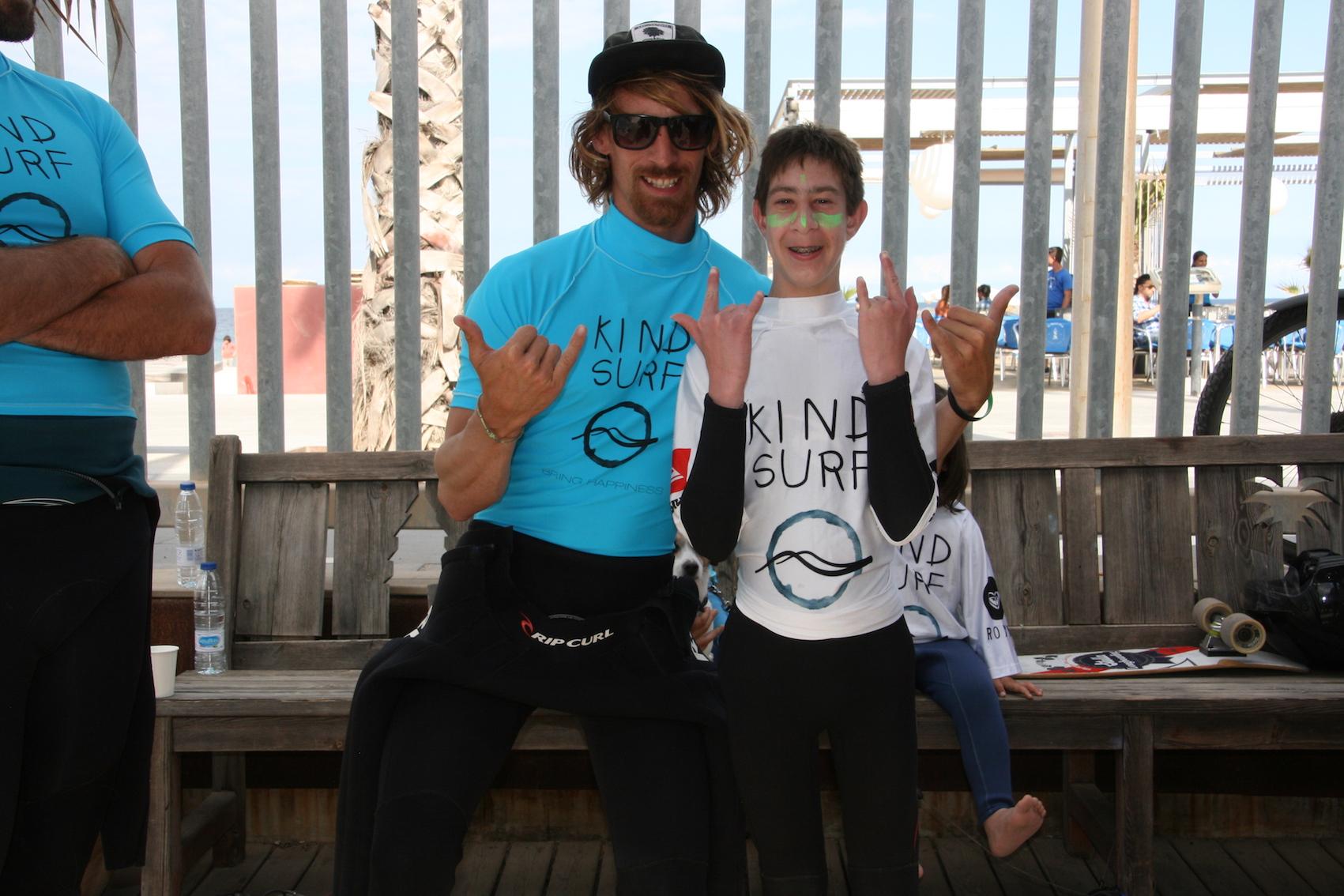 Jornada con nuestros amigos de Kind Surf y Pukas