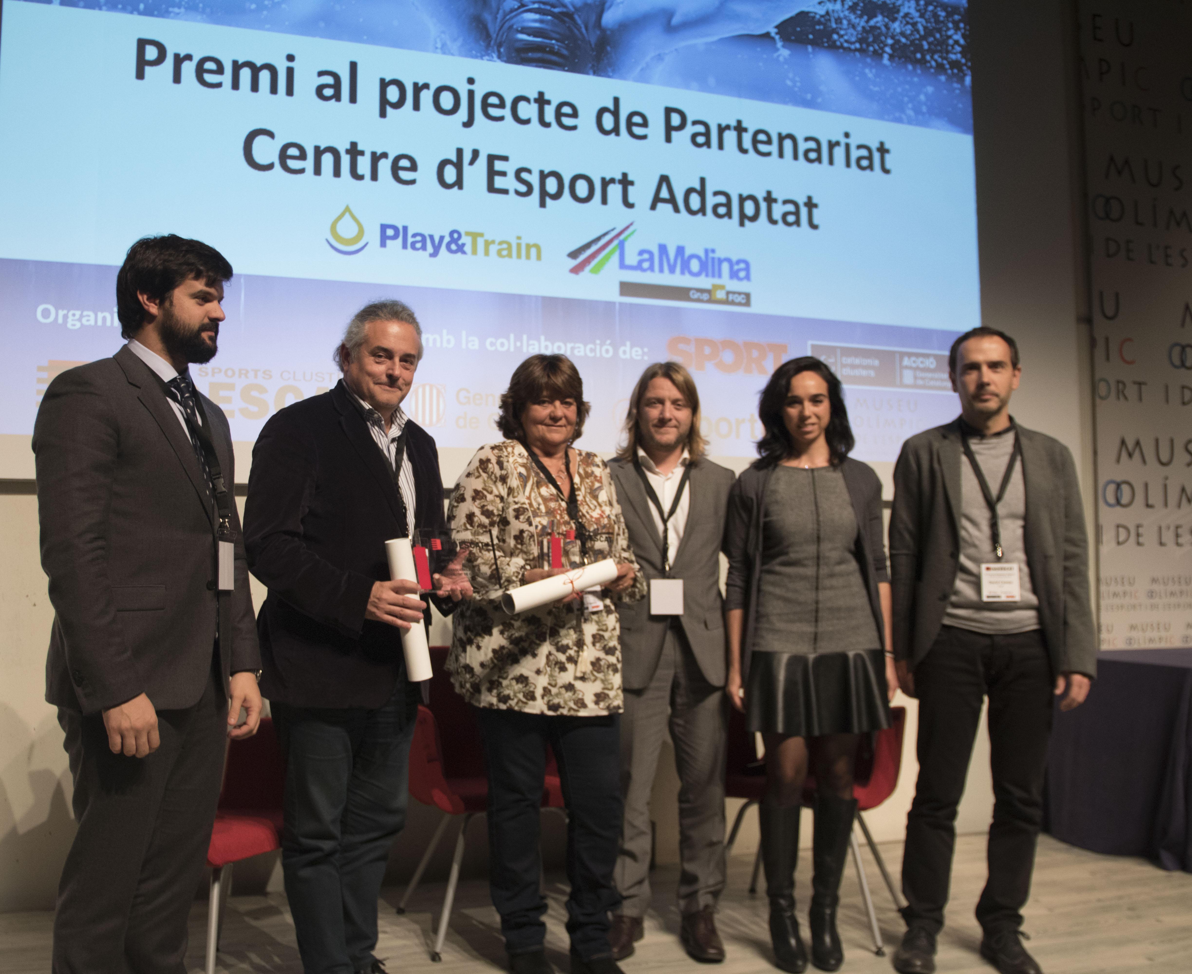 Premios Empresa y Deporte INDESCAT