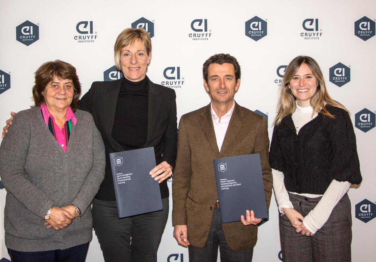 Nuevo convenio con Johan Cruyff Institute