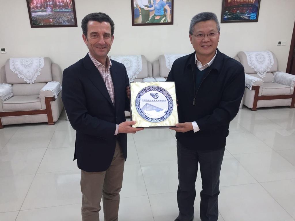 El cluster deportivo Indescat reunido en China