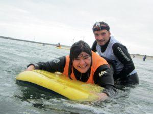 Campamento surf adaptado