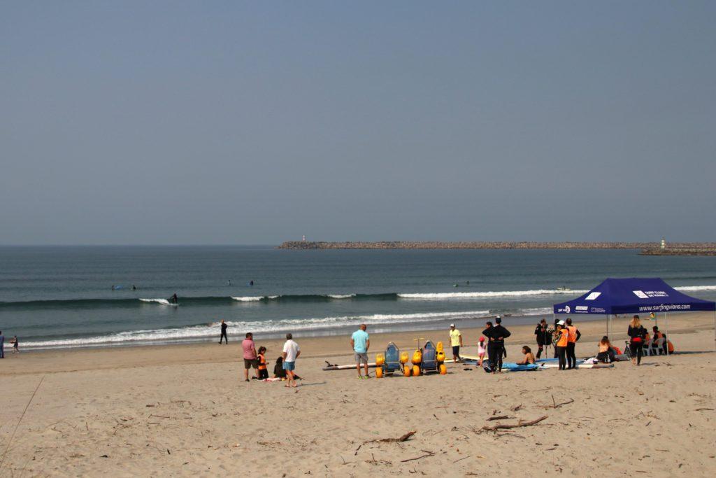 Campamentos de surf adaptado