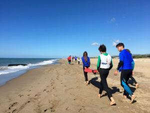 Surf adaptado en el Prat del Llobregat