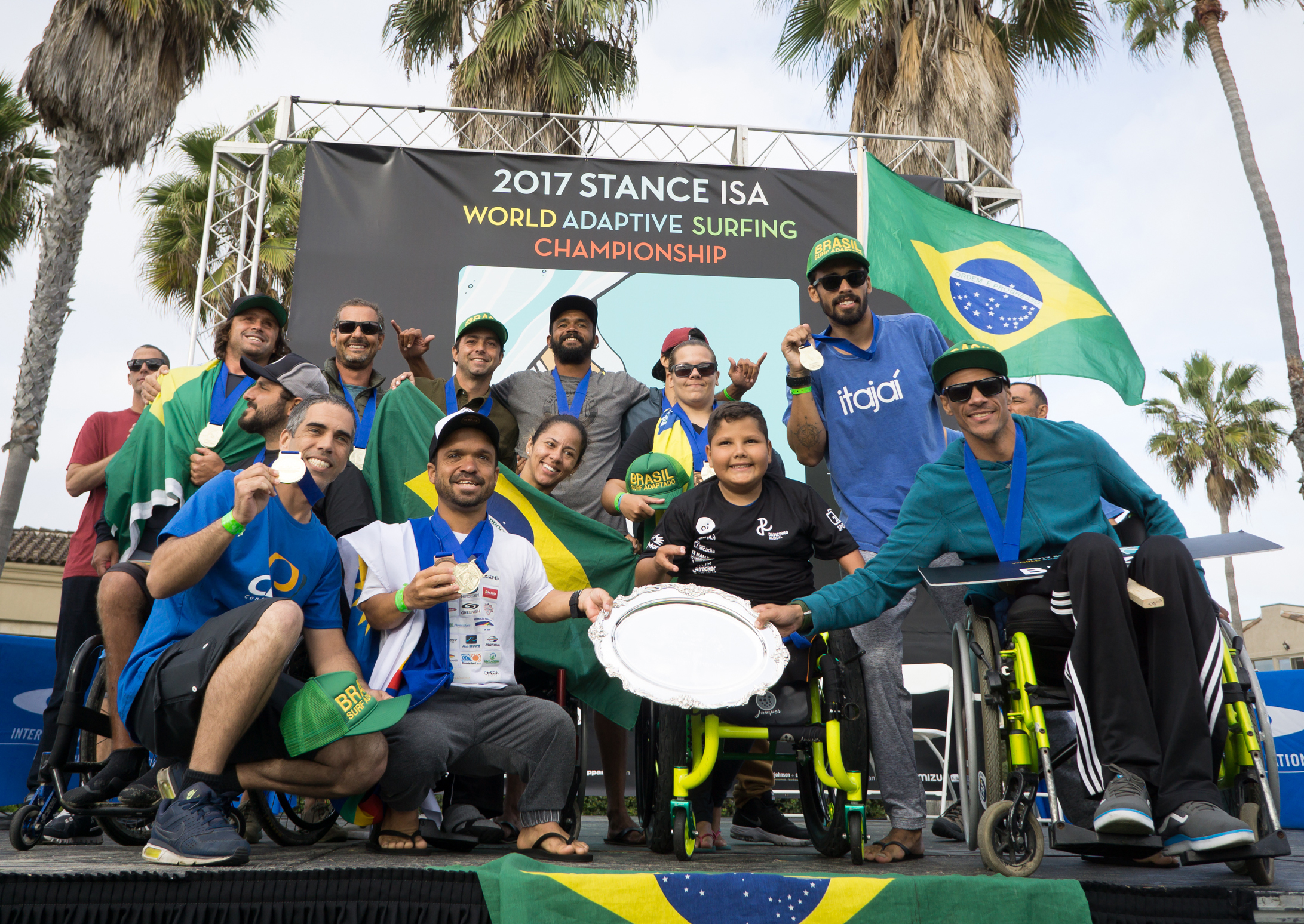 ISA World Adaptive Surfing Championship 2017