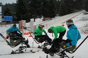 Cursos de formación de esquí adaptado