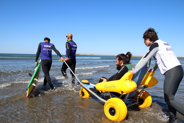 Arranca el proyecto europeo de surf adaptado