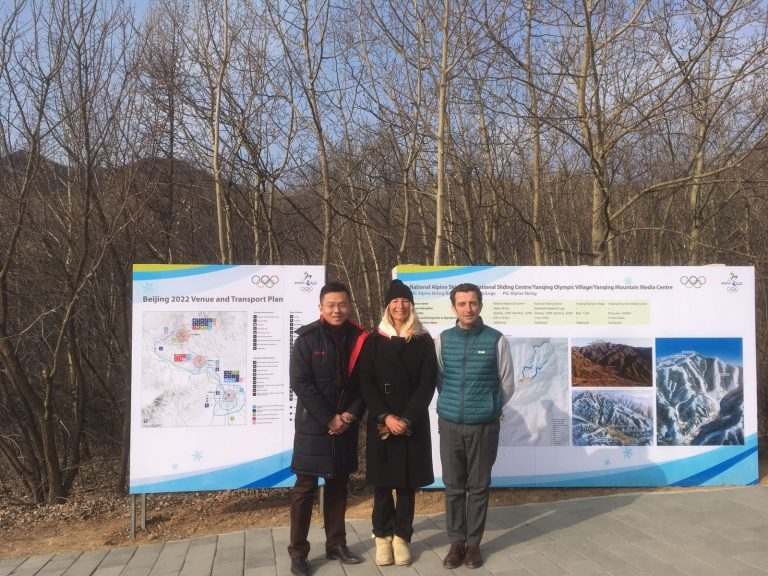 Viaje a Beijing dentro del proyecto EU4Sports Clusters Alliance para el desarrollo del deporte de nieve paralímpico en China