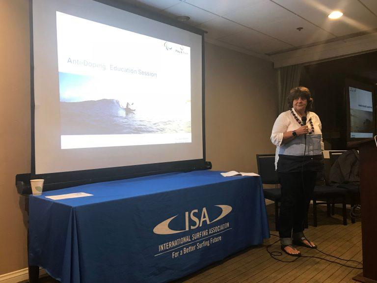 Jornada de formación por la International Surfing Association (ISA)