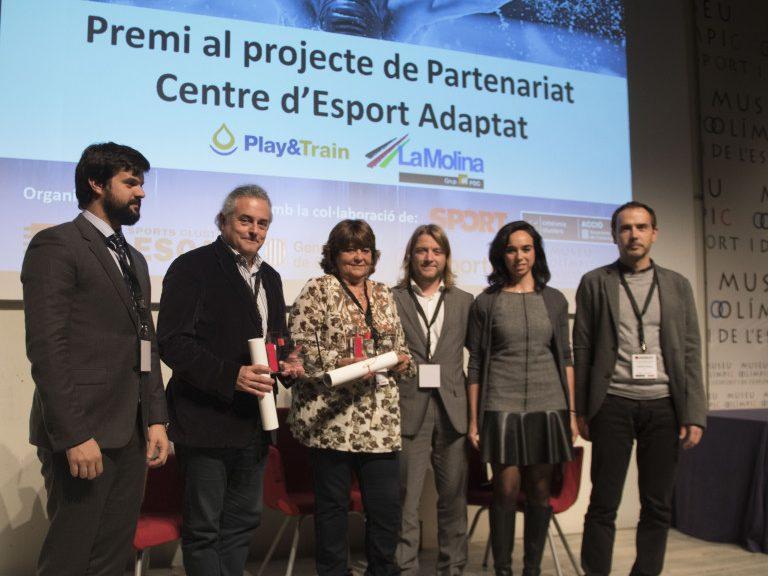 Premio al Partenariado con La Molina otorgado por INDESCAT