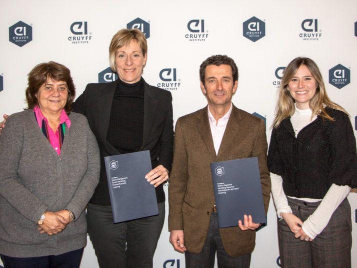 Acuerdo colaboración Johan Cruyff Institute