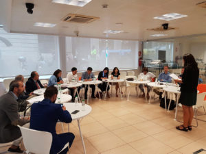 Visita delegación china a Barcelona