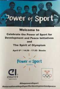 The power of sport for Development and Peace