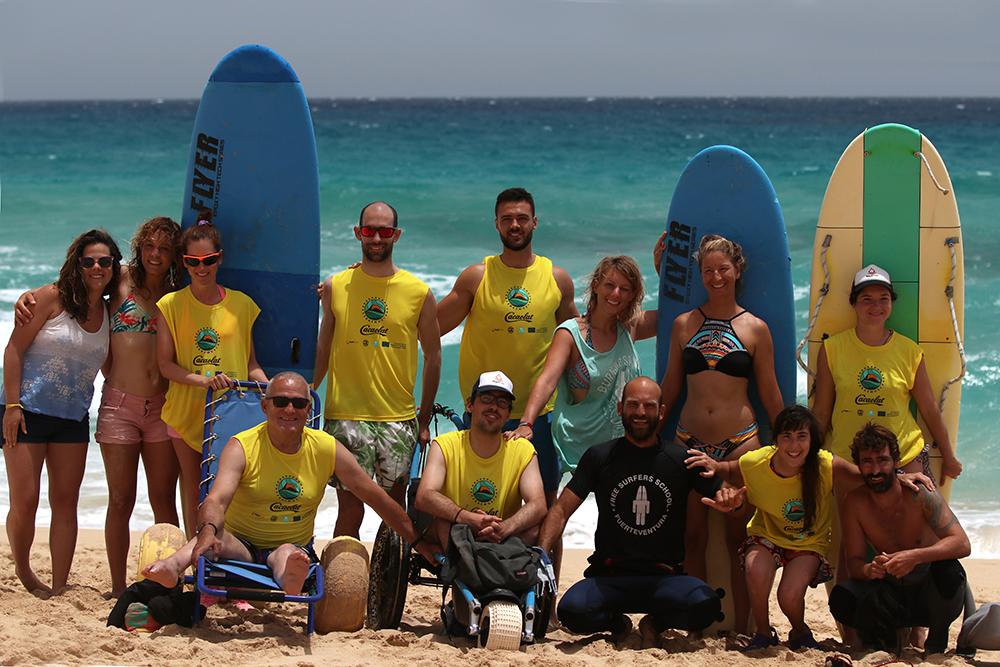 Campamento adultos surf adaptado