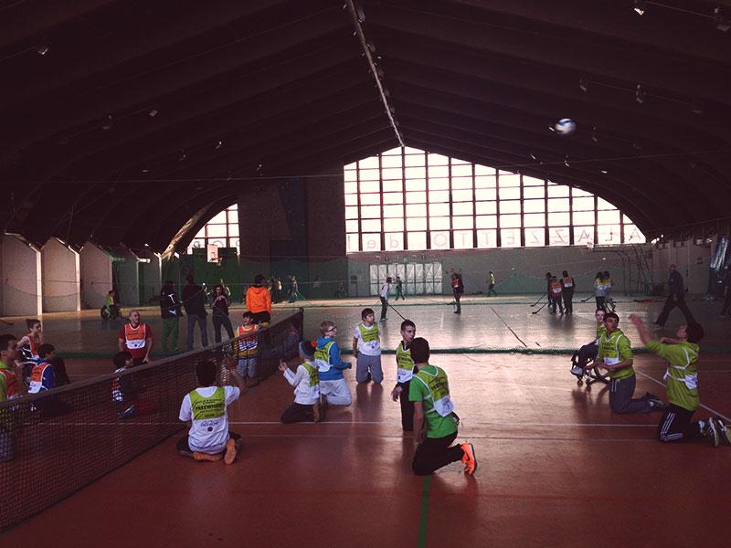 Volleyball en la actividades de tarde