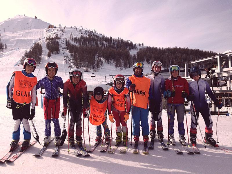 Entrenamientos european para snow youth circuit día 2