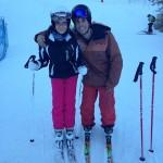 Sandra y su entrenador Marc