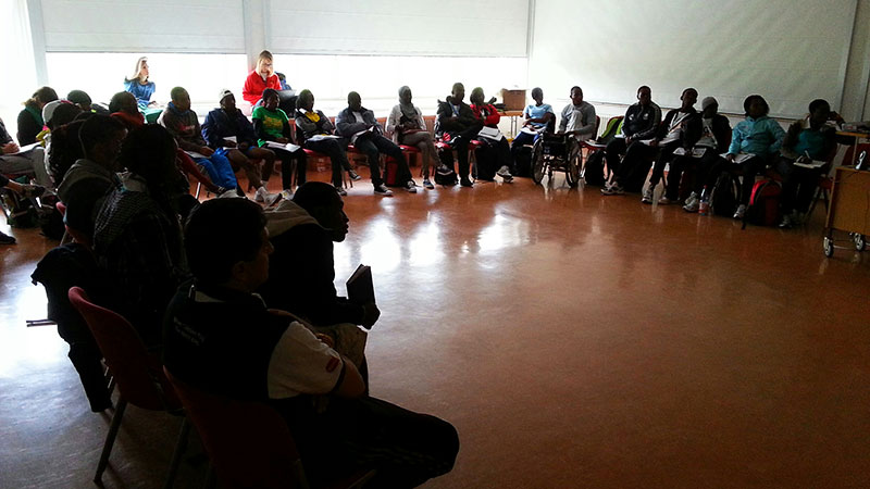 9º youth leadership camp in germany by unosdp
